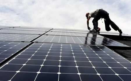 MCS accredited PV solar panel installers in the UK.