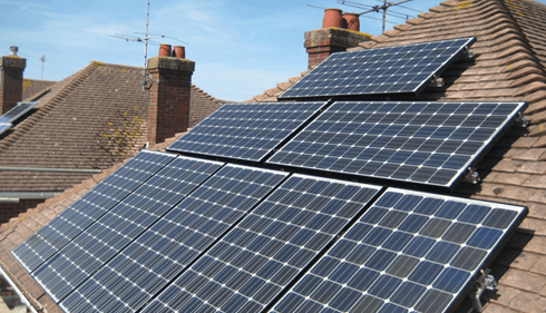 The benefits of PV solar panels in the UK.