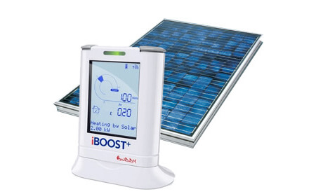How to heat hot water with PV solar panels in the UK.