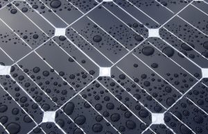 How to clean solar panels.