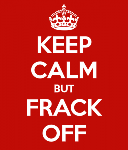 The will of the people to keep fracking out of the United Kingdom.