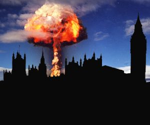 London was destined to be the first hydrogen bomb testing ground.