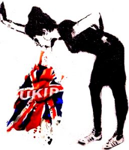 Britain under the influence - Banksy.Under the influence - Banksy.