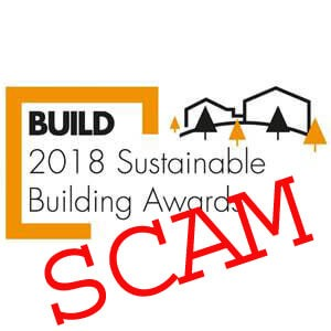 Beware BUILD Magazine Awards and the vanity scam .