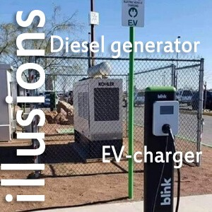 The illusion of green EV-charging.