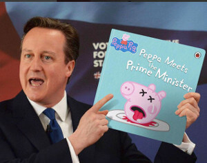Prime Ministerial Legacy - They will generate their own power when pigs fly says David Cameron.