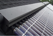 Solar heating panels and evacuated tubes incentives in the United Kingdom.