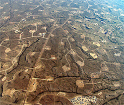 Fracking in full-scale production.