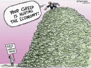 After years of austerity during when the wealthiest 10% have seen their wealth increase between 50% and 100%.