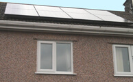 We recommend a PV solar panels installation.