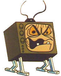 A warning from the past about TV programming. Edna from Willow the Wisp.