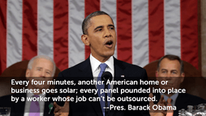 Ushering in solar panels as the new norm.