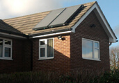 Solar heating panels and the Renewable Heat Incentive.