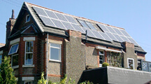 The joy of PV solar panels in the United Kingdom.