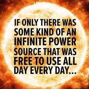 Ensuring your children's survival once involved appeasing the sun gods. Humanity once again needs to worship the sun.