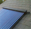 Evacuated tubes and solar heating panel incentive schemes.